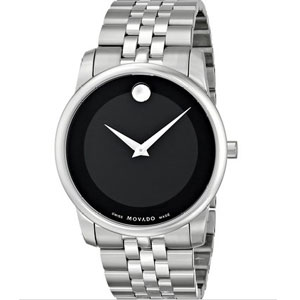 Movado Men's 0606504 Museum Stainless Steel Bracelet Watch