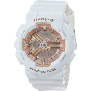 Casio Women's BA-110-7A1CR Baby-G Pink Analog-Digital Watch