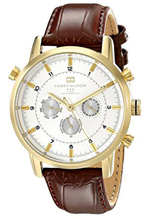 Tommy Hilfiger Men's 1790874 Gold-Tone Watch