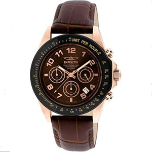 Invicta Speedway Gold Ion-Plated Stainless Steel Watch